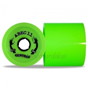 ABEC 11 Centrax 83mm 80a Lime longboard wielen