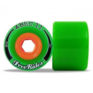 ABEC 11 Classic FreeRides 66mm longboard wielen