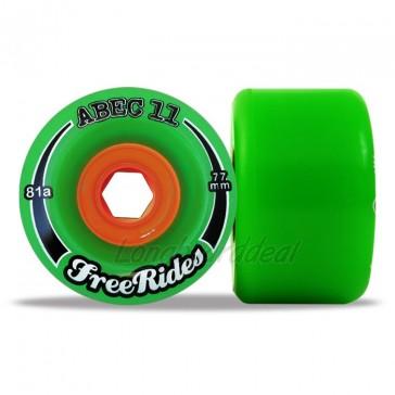 ABEC 11 Classic FreeRides 77mm longboard wielen