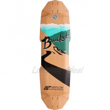 "Airflow Bracket 34.45"" longboard deck"