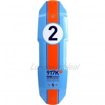 "Airflow Bracket Limited Edition 34.45"" longboard deck"