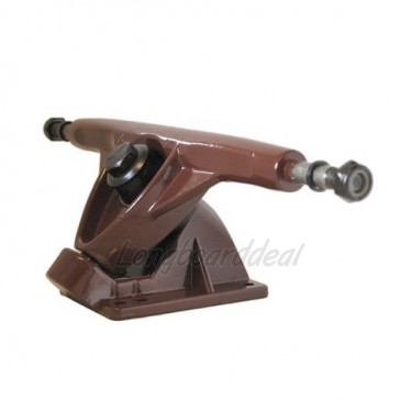 Amok 180mm longboard trucks Brown
