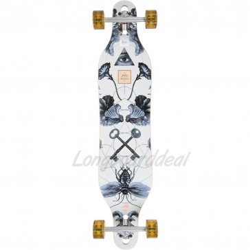 "Arbor Axis Bamboo 40"" drop-through longboard complete"