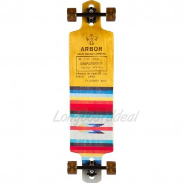 "Arbor Dropcruiser Flagship 38"" longboard complete"