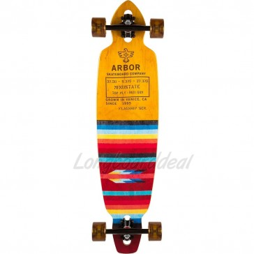 "Arbor Mindstate Flagship 37.5"" drop-through longboard complete"