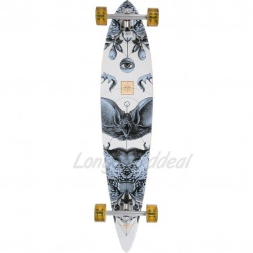 """Arbor Timeless Bamboo 42"""" pintail longboard complete"""