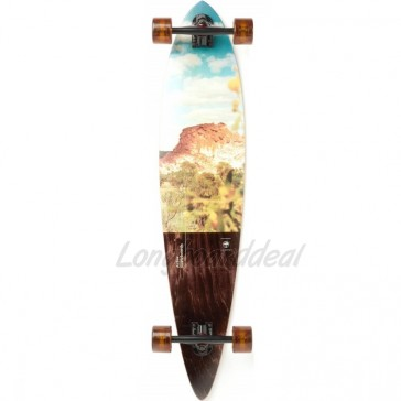 "Arbor Timeless Photo - Desert 42"" pintail longboard complete"