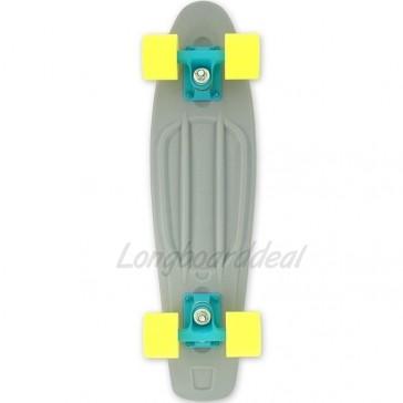"Baby Miller Ice Lolly Stone Grey 22"" cruiser skateboard"