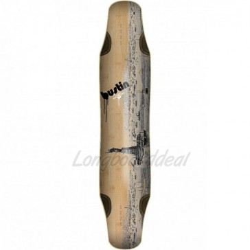 "Bustin Daenseu Old NY Graphic 42"" longboard deck"