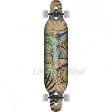 """Bustin Machete Zo Graphic 39"""" longboard complete"""