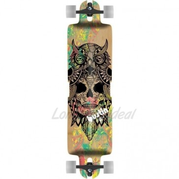 """Bustin Nomad Bukhal Graphic 36.35"""" longboard complete"""
