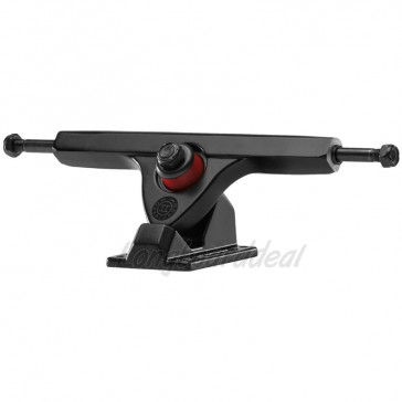 "Caliber II Fifty 10"" Black-out longboard trucks"
