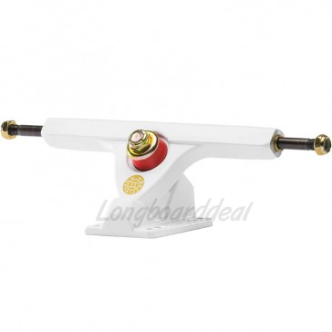 "Caliber II Fifty 10"" White Gold longboard trucks"