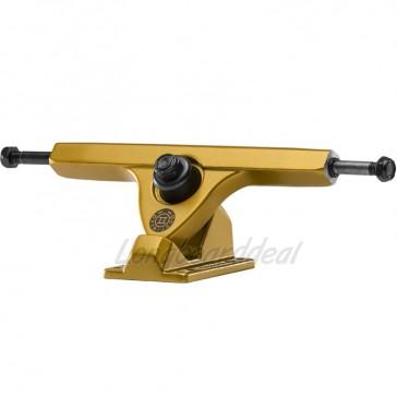 "Caliber II Fifty 10"" Satin Gold longboard trucks"