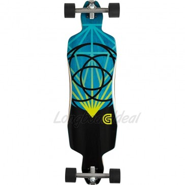 "Goldcoast Lume Drop-Through 36"" longboard complete"