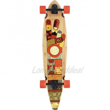 "Goldcoast Origin 40"" pintail longboard complete"
