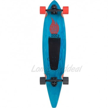 "Goldcoast Studio Folk 40"" pintail longboard complete"