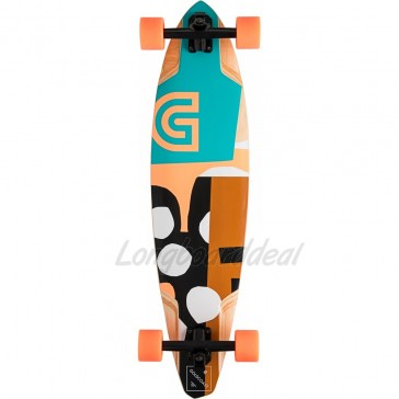 "Goldcoast The Lair Pintail 36"" longboard complete"