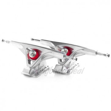 Kahalani Cast Precision V2 Raw 180mm 50° longboard trucks