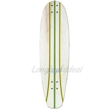 "Koastal Pickle 34"" longboard deck"