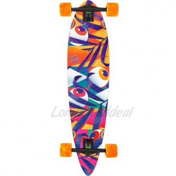 "Landyachtz Bamboo Chief Eyes 36"" longboard complete"