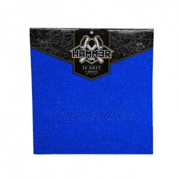 Landyachtz Hammer Super Griptape 11 inch Blue (4 sheets)
