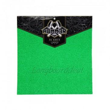 Landyachtz Hammer Super Griptape 11 inch Green (4 sheets)