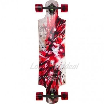 Landyachtz Maple Drop Hammer Cardinal 36.5 longboard complete