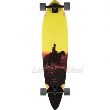 "Landyachtz Totem Sunset Kid 41"" longboard complete"