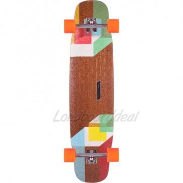 """Loaded Tesseract 39"""" longboard complete"""