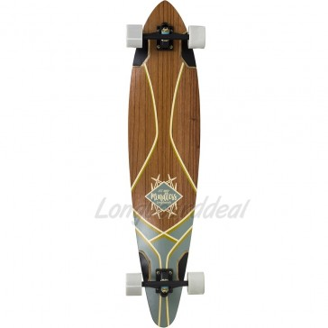 "Mindless Core Pintail 44"" longboard complete"