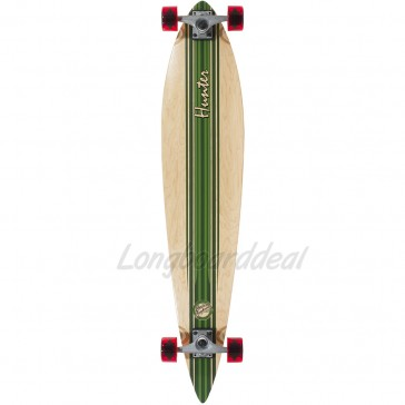 "Mindless Hunter III Green 44"" pintail longboard complete"