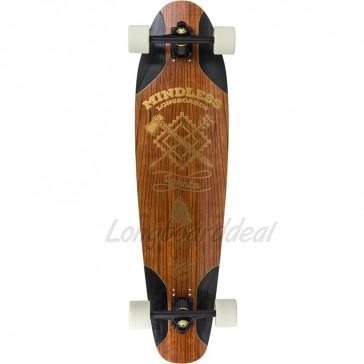 """Mindless Lakota Freeride 36.5"""" longboard complete"""