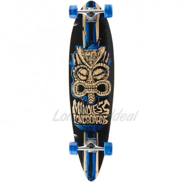 "Mindless Rogue II Limited-Edition Blue 38"" longboard complete"