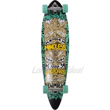 """Mindless Rogue IV Green 38"""" longboard complete"""