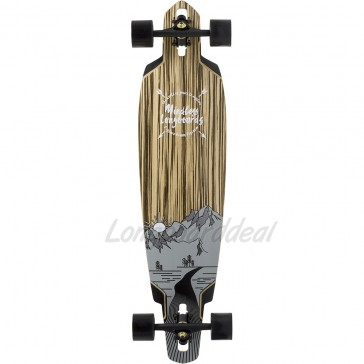 "Mindless Voodoo Lakota DT IV 40"" drop-through longboard complete"