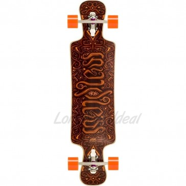 "Mindless Voodoo Nyoka 4President 40"" drop-through longboard complete"