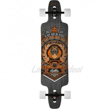 """Restless Splinter Crest 38"""" longboard complete"""