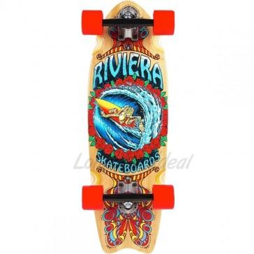 "Riviera Endless Wave 28.5"" mini longboard complete"