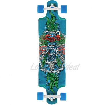 "Santa Cruz Sea God 38"" Top-mount longboard complete"