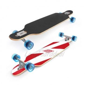 "Surf Rebel Free Style 39"" drop-through longboard complete"