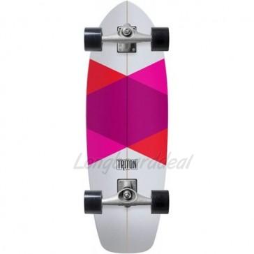 "Triton Carver Red Diamond 29"" surfskate complete"