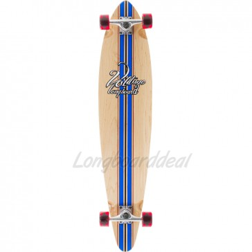 "Voltage Big Pintail Blue 42"" longboard complete"