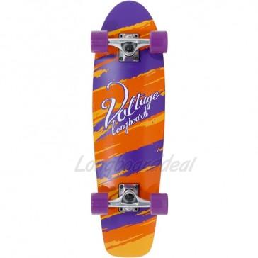 "Voltage Cruiser Orange-Purple 28"" complete"