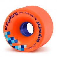 Orangatang Stimulus 70mm 80a Orange longboard wielen