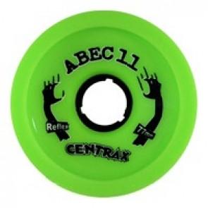 ABEC 11 Centrax 77mm 80a Lime longboard wielen