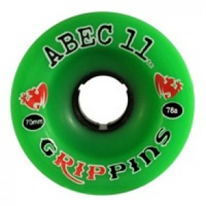 ABEC 11 Grippins 70mm longboard wielen
