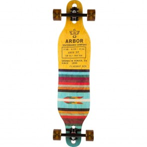 "Arbor Axis Flagship 40"" drop-through longboard complete"