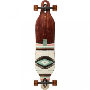 "Arbor Axis Flagship II Native 37"" drop-through longboard complete"
