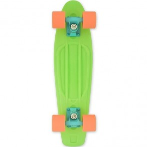 "Baby Miller Ice Lolly Lime Green 22"" cruiser skateboard"